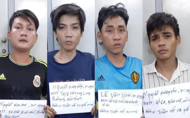 Băng nhóm nghiện ma tuý thực hiện hàng loạt vụ trộm ở Sài Gòn