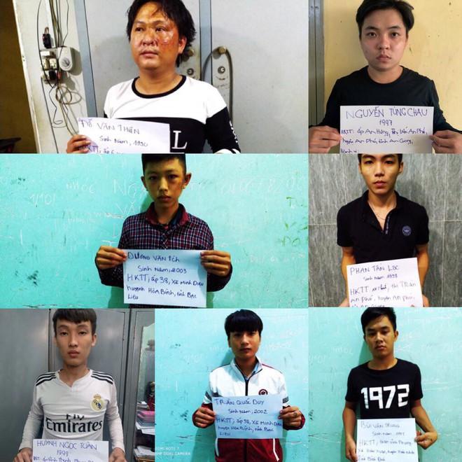 Bắt nhóm thanh niên tham gia hỗn chiến ở Sài Gòn khiến 1 người tử vong - Ảnh 1.