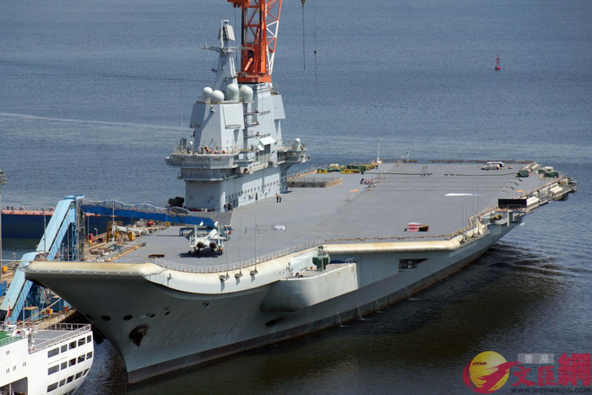 Số lượng tiêm kích hạm trên tàu sân bay nội địa Type 002 Trung Quốc gây bất ngờ - Ảnh 1.