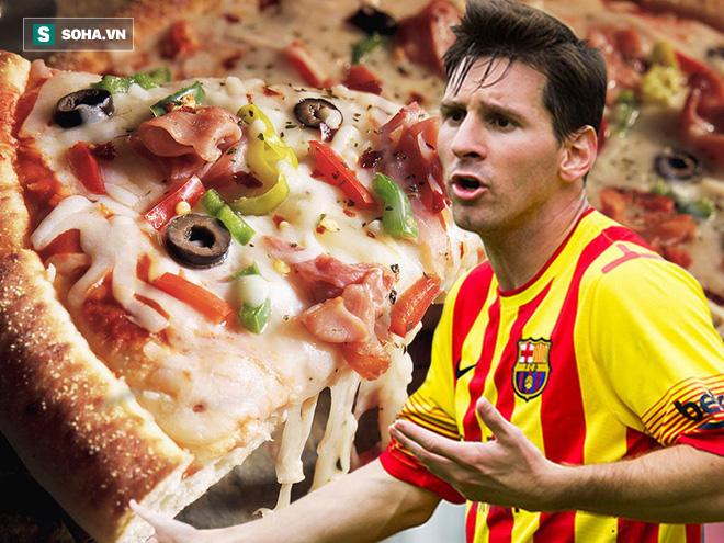 Patrice Evra nói sai rồi, Ronaldo không ăn uống chán phèo, Messi mới là kẻ khổ hạnh - Ảnh 4.