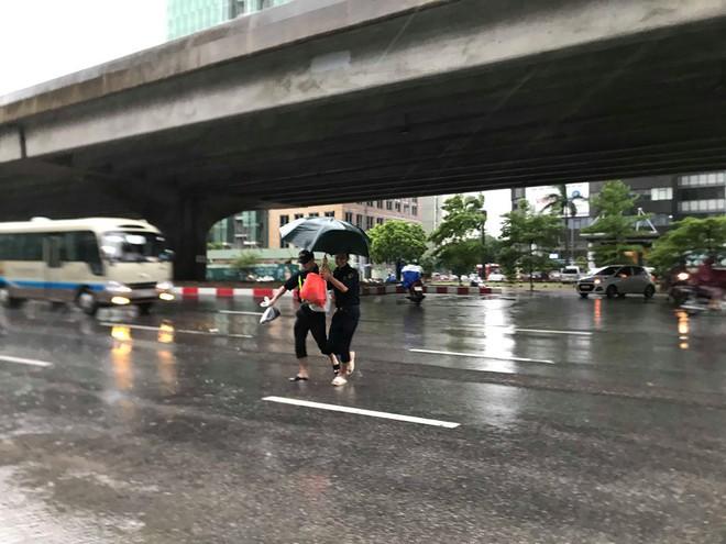 Ảnh hưởng của bão số 3, Hà Nội ngập nhiều tuyến phố, cây xanh gãy cành, bật gốc - Ảnh 15.