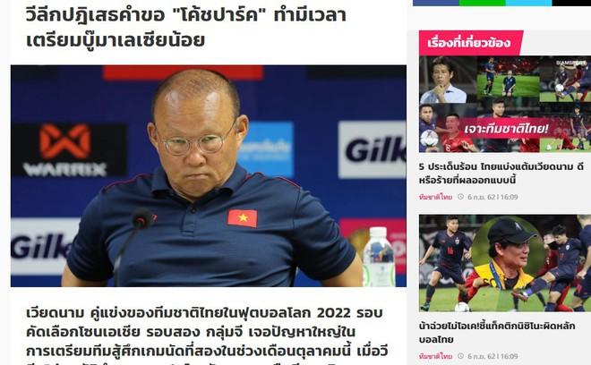 """Báo Thái Lan dành sự """"ưu ái"""" hiếm có nhằm đề cao tầm ảnh hưởng của HLV Park Hang-seo - Ảnh 1."""