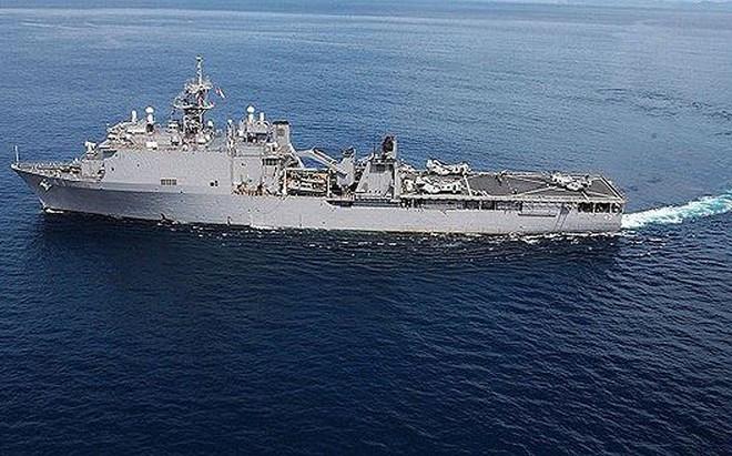Chiến hạm của Nga tiến vào Biển Đen giữa lúc tàu Mỹ hiện diện