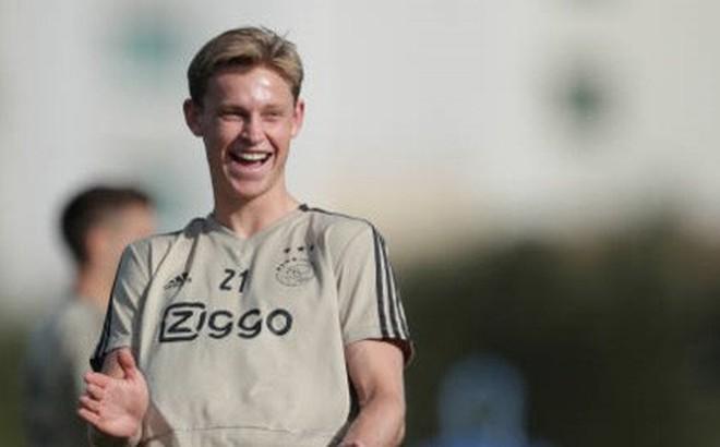 Mục tiêu của MU, Barca phủ nhận rời Ajax trong tháng 1/2019