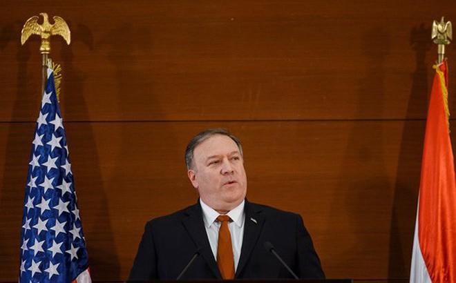 """Ngoại trưởng Mỹ Mike Pompeo: Mỹ là """"lực lượng giải phóng"""" Trung Đông"""