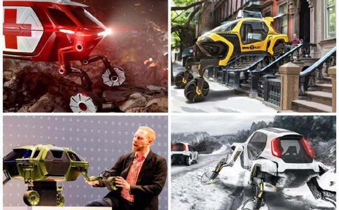 Ô tô có thể đi lại bằng 4 chân và cứu người sở hữu công nghệ 'kỳ dị' gì?