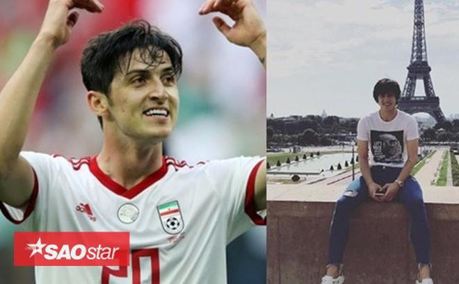 Dân mạng tiếp tục chứng tỏ đẳng cắp 'tìm info' khi khui ra danh tính tiền đạo 'soái ca' giúp Iran ghi 2 bàn thắng