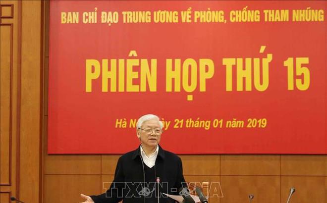 Tổng Bí thư, Chủ tịch nước Nguyễn Phú Trọng: Xây dựng cơ chế phòng ngừa chặt chẽ để 'không thể tham nhũng'