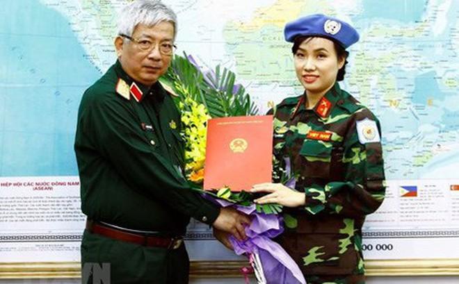 Gặp nữ sỹ quan Việt Nam đầu tiên thực hiện nhiệm vụ gìn giữ hòa bình