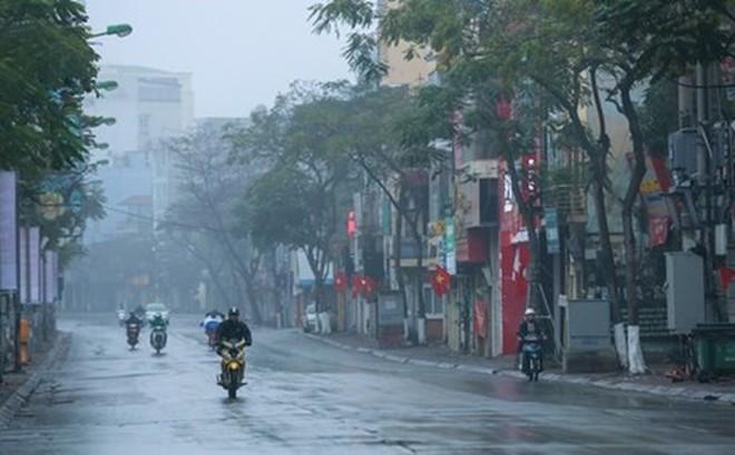 Bắc Bộ tiếp tục có mưa nhỏ, mưa phùn, sáng và đêm trời rét