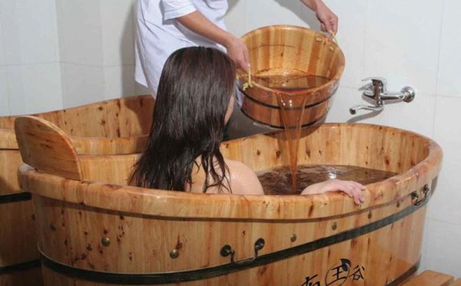 Ngâm, tắm thảo dược và sức khỏe