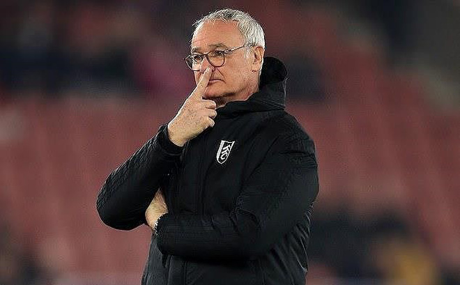 Ranieri bị sa thải vì phương pháp huấn luyện… lỗi thời