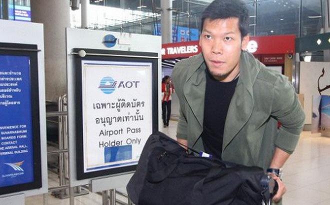 Thái Lan đón tuyển thủ nước ngoài đầu tiên về đấu Việt Nam