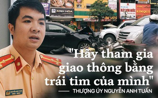 """Chuyện về cái chết của 3 mẹ con và câu nói lạnh gáy của gã tài xế """"ma men"""" ám ảnh Thượng úy CSGT ở Hà Nội"""