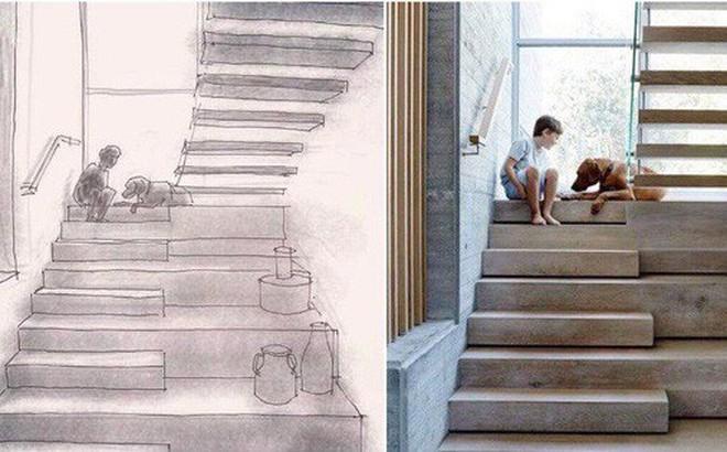 """Xôn xao chuyện SV Kiến trúc bị tố lấy ảnh thật trên mạng chỉnh sửa thành bản vẽ, nhận là tác giả rồi đặt caption """"so deep"""" trên Instagram"""