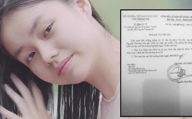 Nóng: Bộ Văn Hoá yêu cầu kiểm tra quy trình cấp phép, ekip Vợ Ba nói gì?