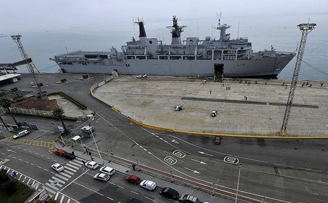 Hải quân Anh triển khai nhiệm vụ lớn nhất trong một thập kỷ qua tại châu Âu