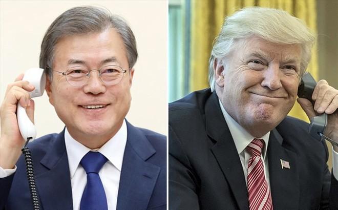Bê bối rò rỉ bí mật điện đàm TT Moon Jae-in và ông Trump chấn động Hàn Quốc