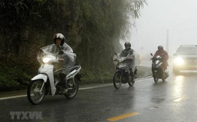 Các tỉnh miền núi Bắc Bộ có nơi mưa rất to, nguy cơ cao xảy ra lũ quét