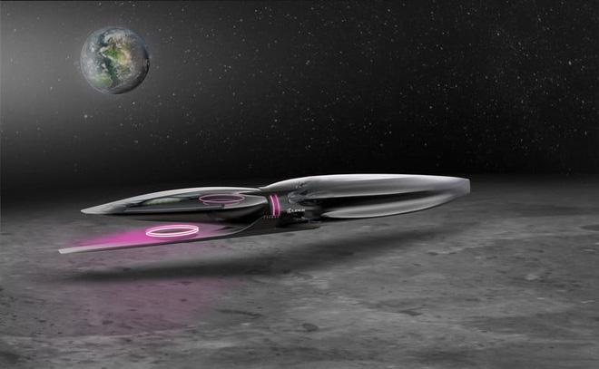 Di chuyển bằng gì trên Mặt trăng cho sang chảnh và độc đáo? Đây là câu trả lời từ Lexus - Ảnh 2.