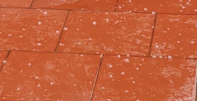 Trưa 30 Tết: Mưa đá xuất hiện tại Thanh Hóa, Phú Thọ, Thái Nguyên - Ảnh 4.