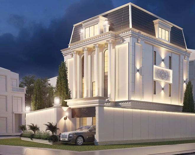 Sau khi sở hữu căn nhà 5 triệu đô, Huyền Baby khoe biệt thự mới hoành tráng như cung điện - Ảnh 1.