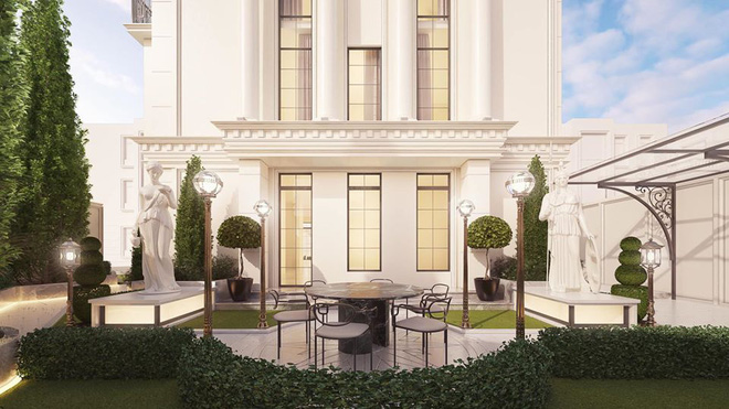 Sau khi sở hữu căn nhà 5 triệu đô, Huyền Baby khoe biệt thự mới hoành tráng như cung điện - Ảnh 3.