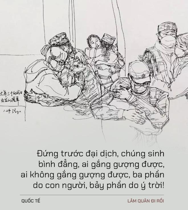 Lâm Quân đi rồi: Điếu văn tiễn đưa một người nhỏ bé tầm thường ra đi vì dịch  Covid-19 chấn động MXH Trung Quốc - Ảnh 1.