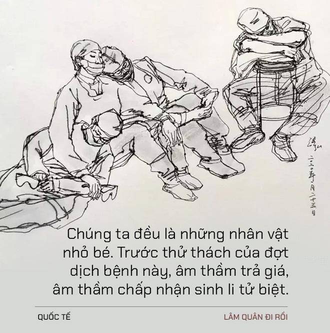 Lâm Quân đi rồi: Điếu văn tiễn đưa một người nhỏ bé tầm thường ra đi vì dịch  Covid-19 chấn động MXH Trung Quốc - Ảnh 3.