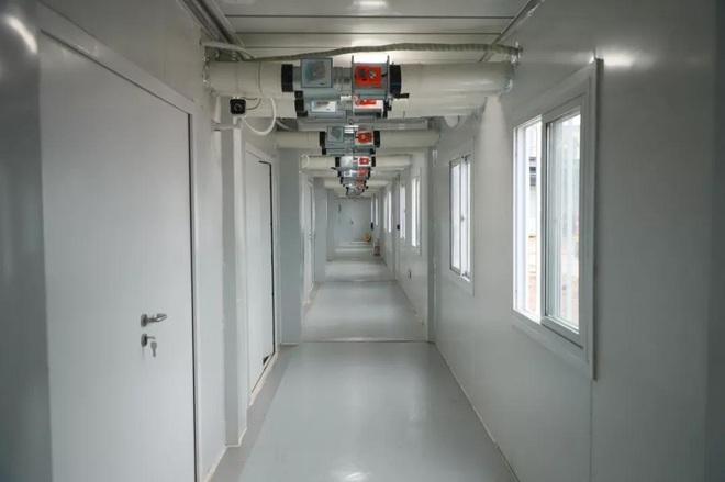 Sau 10 ngày đêm thần tốc, Vũ Hán nghiệm thu bệnh viện dã chiến thứ 2 Lôi Thần Sơn  - Ảnh 5.