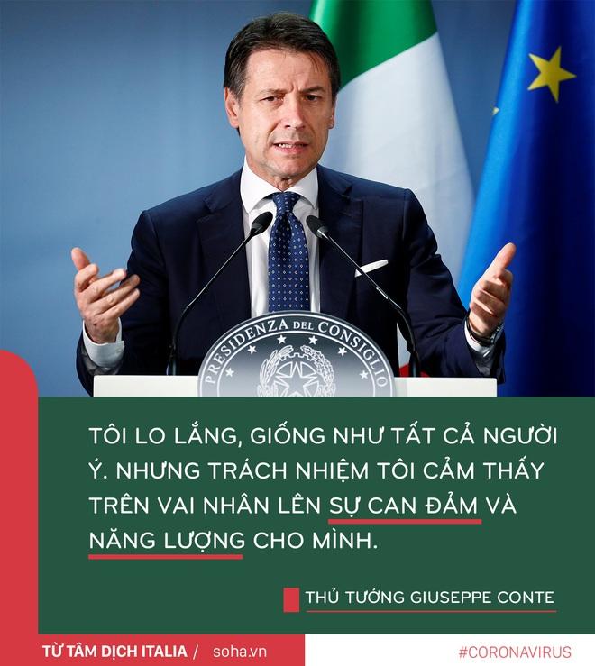Thông điệp của Thủ tướng Ý từ tâm dịch: Chúng ta không được sợ hãi mà cần có can đảm và niềm tin - Ảnh 1.