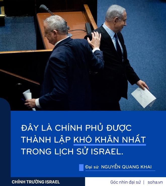 Israel thành lập chính phủ khó khăn nhất trong lịch sử: Dù bị chỉ trích, ông Netanyahu vẫn thắng - Ảnh 2.