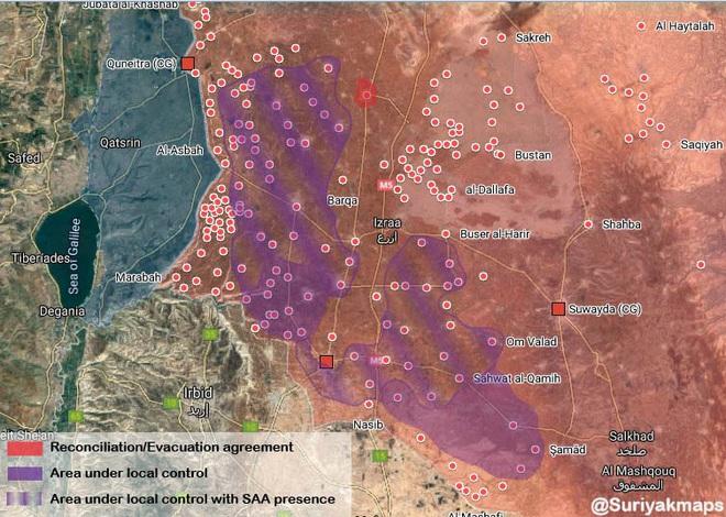 9 năm sau cuộc cách mạng, cơn thịnh nộ của Sư đoàn 4 VBCH sắp quét sạch tây nam Syria? - Ảnh 1.