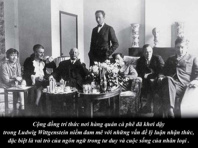 Triết gia Ludwig Wittgenstein và triết học thông qua thưởng lãm cà phê - Ảnh 3.