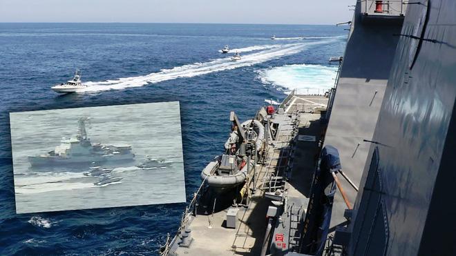 Hàng trăm tàu cao tốc Iran vây bắt sống tàu Mỹ: Kịch bản kiến đấu voi, kết quả bất ngờ? - Ảnh 2.
