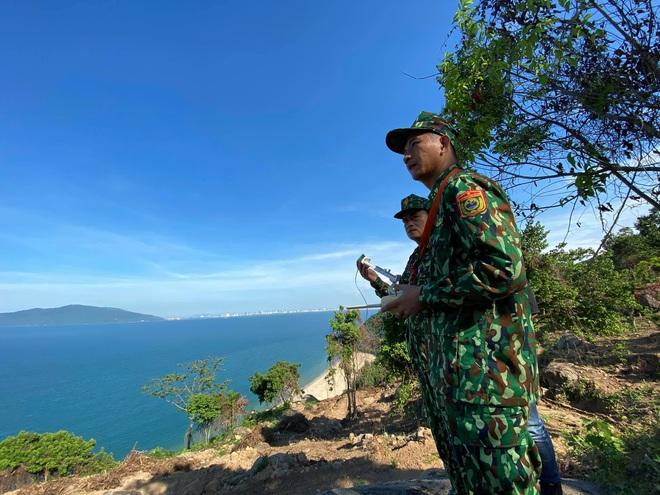 Chùm ảnh: Sử dụng thiết bị trên không, quyết tìm dấu vết Triệu Quân Sự trên núi Hải Vân - Ảnh 6.