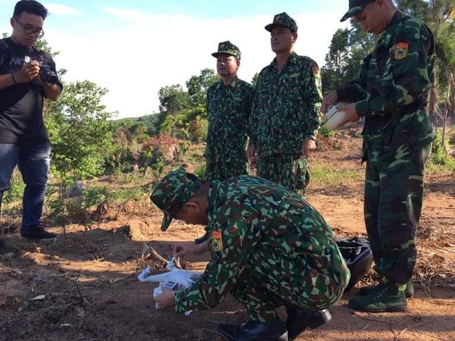 Chùm ảnh: Sử dụng thiết bị trên không, quyết tìm dấu vết Triệu Quân Sự trên núi Hải Vân - Ảnh 5.