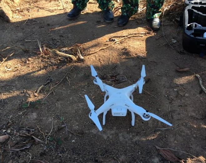 Chùm ảnh: Sử dụng thiết bị trên không, quyết tìm dấu vết Triệu Quân Sự trên núi Hải Vân - Ảnh 4.