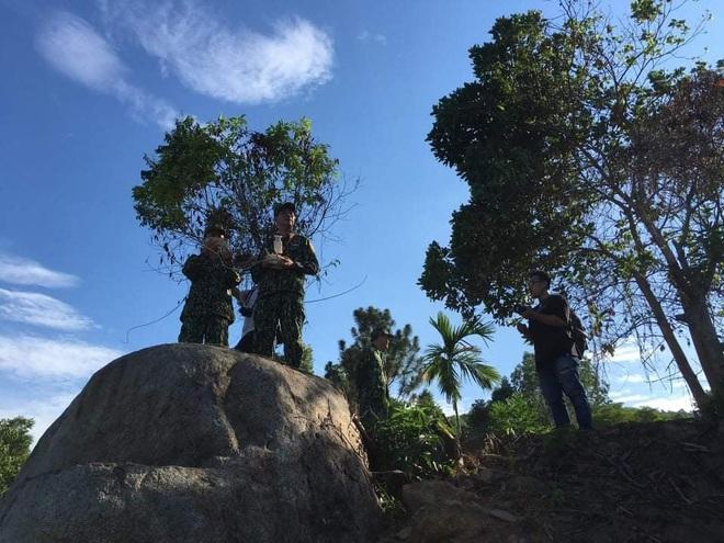 Chùm ảnh: Sử dụng thiết bị trên không, quyết tìm dấu vết Triệu Quân Sự trên núi Hải Vân - Ảnh 9.