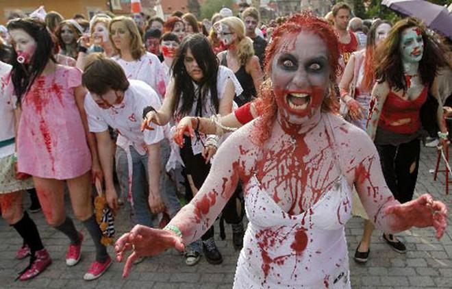 Rùng rợn những hình ảnh kinh dị đêm Halloween