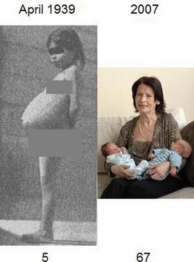Người mẹ trẻ nhất thế giới