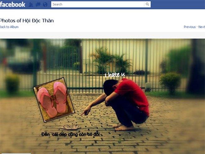 Những hội độc thân có tên gọi hài hước trên Facebook