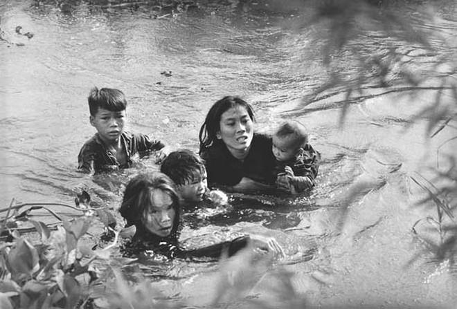 Vẫn còn đau nhói hình ảnh những đứa trẻ trong chiến tranh Việt Nam