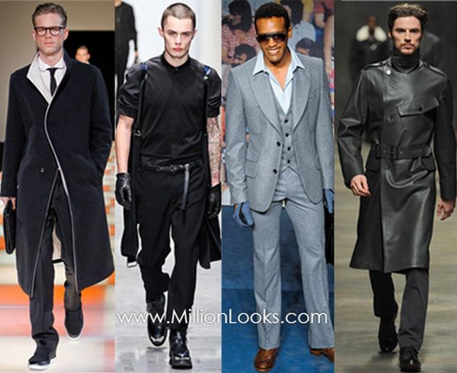 Xu hướng thời trang nam thu đông 2012-2013