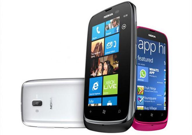 Lumia 610 sẽ được nâng cấp toàn bộ