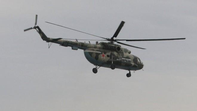 Video: Trực thăng Nga tấn công mục tiêu từ trên không