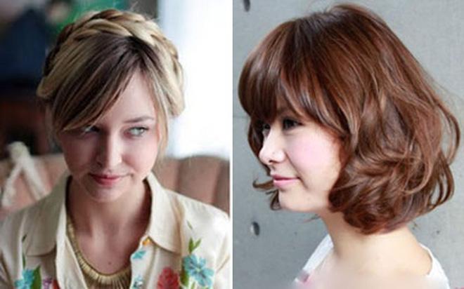 Tạo kiểu đẹp xinh cho mái tóc ngắn