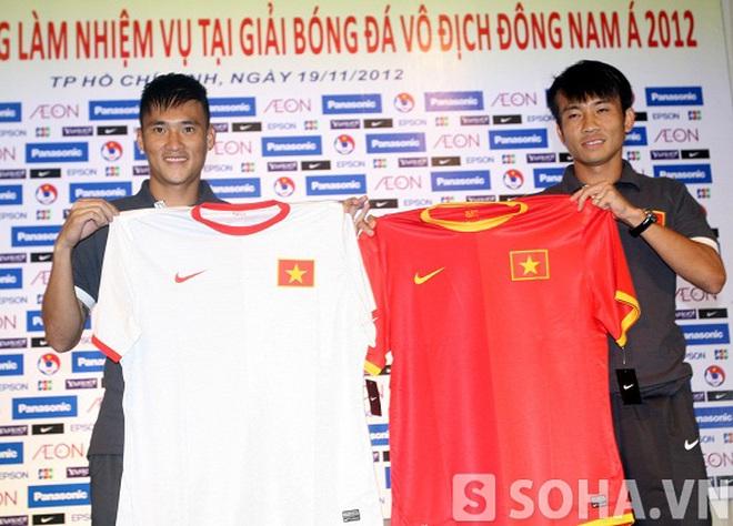 Áo thi đấu mới của ĐT Việt Nam chính thức lộ diện