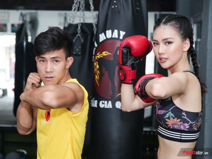 Siêu mẫu Bùi Quỳnh Hoa so găng với độc cô cầu bại Muay Thái - Ảnh 13.