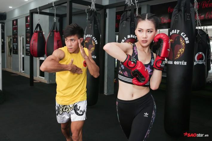 Siêu mẫu Bùi Quỳnh Hoa so găng với độc cô cầu bại Muay Thái - Ảnh 7.